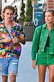 justin bieber hailey baldwin make one colorful couple in beverly hills 07