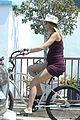 josh brolin goes shirtless for bike ride with pregnant wife kathryn boyd 29