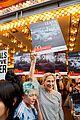 edie falco protests mcdonalds 03