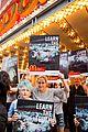 edie falco protests mcdonalds 09