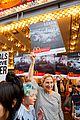 edie falco protests mcdonalds 13