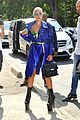 lady gaga rocks metallic look for busy day in paris 03