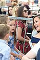 jennifer garner poses three kids walk of fame ceremony 05