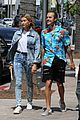 hailey baldwin wears denim outfit to church with justin bieber 31