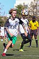 justin bieber goes shirtless playing soccer with friends 08