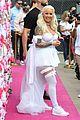 amber rose dresses as sexy bride at slutwalk 05