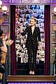 amber heard could be aunt at any moment on late late show 01