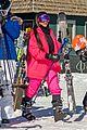 kim kardashian kendall jenner hit the slopes aspen 07