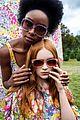 julia garner kiki layne and sadie sink get colorful for kate spades spring 2019 campaign 03