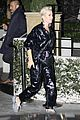 katy perry orlando bloom arrive on motorcycle for jennifer aniston birthday party 03