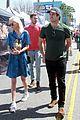 beau mirchoff stops by farmers market in studio city 02