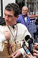 antonio banderas nicole kimpel step out during holy week in spain 07