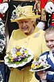 queen elizabeth joined by princess eugenie for easter coin ceremony 27