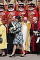 queen elizabeth joined by princess eugenie for easter coin ceremony 31