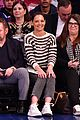katie holmes sits courtside to cheer on the knicks 03