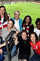 jennifer garner jessica chastain support times up soccer game 19