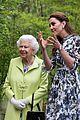 kate middleton prince william queen elizabeth chelsea flower show garden 04