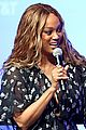 tyra banks geena davis attend day one of at t shape 05