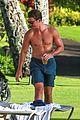 miles teller shirtless maui vacation keleigh sperry 01