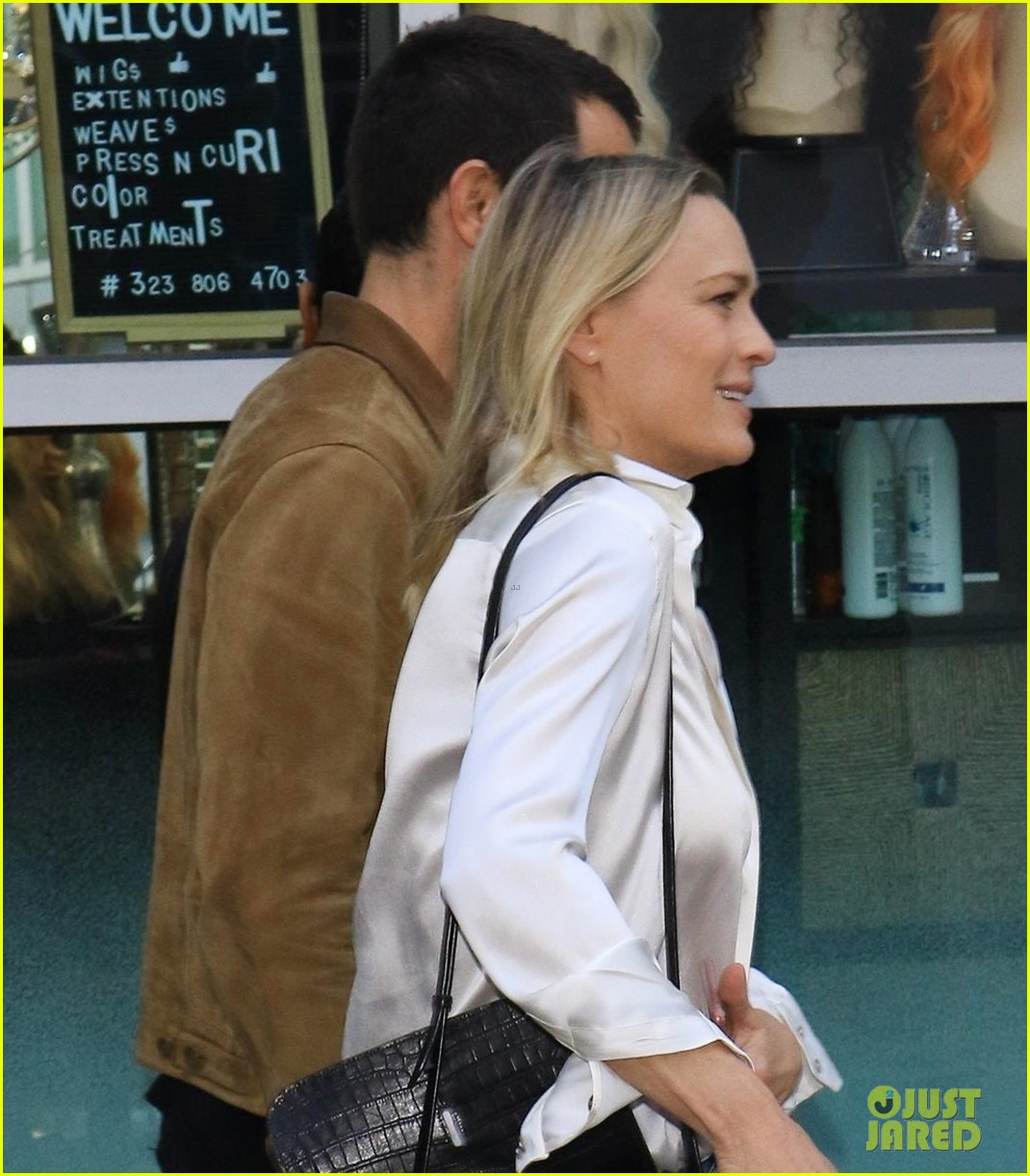 robin wright rare appearance with husband 014304849