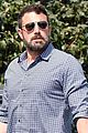 ben affleck keeps it cool while arriving at santa monica office 04