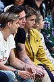 david beckham family supports victoria beckham at london fashion show 04