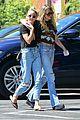 miley cyrus kaitlynn carter wrap their arms around each other afternoon stroll 03