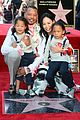 terrence howard kids steal the show at hollywood walk of fame ceremony 03