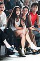 suki waterhouse emily ratajkowski sit front row proenza fashion show 07