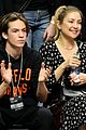 kate hudson danny fujikawa bring sons ryder bingham to clippers game 04