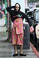 justin bieber bear outfit hailey bieber coffee run 07