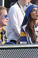 Photo 14 of Macaulay Culkin & Brenda Song Couple Up for Rams Game!