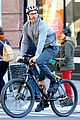 hugh jackman christmas eve bike ride 05