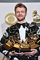 billie eilish finneas pose with their 10 award grammys 18