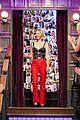 january jones john cena test their nerves in late late shows flinch game 02