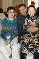 david beckham kids support victoria beckham fashion show 07