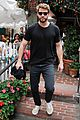 liam hemsworth girlfriend gabriella brooks grab lunch brother luke 01