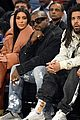kim kardashian kanye west sit courtside at nba all star game 02