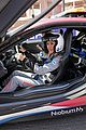 ellie goulding gets in the drivers seat at formula e track 17