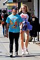 joe jonas gets handsy with sophie turner on lunch outing 19