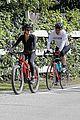 dennis quaid biking with fiancee laura savoie 07