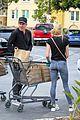dennis quaid laura savoie stock up on groceries 13