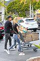 dennis quaid laura savoie stock up on groceries 24