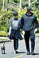 chris pratt katherine schwarzenegger walk with her family 02