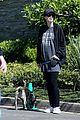 chris pratt katherine schwarzenegger walk with her family 11