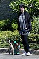 chris pratt katherine schwarzenegger walk with her family 23