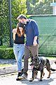 ben affleck dog walks with ana dearmas 02