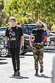 miley cyrus cody simpson wear masks on their coffee date 15