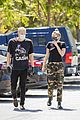 miley cyrus cody simpson wear masks on their coffee date 31