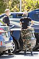 miley cyrus cody simpson wear masks on their coffee date 39